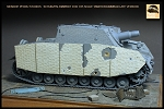 Zimmerit For 1/35 Late Version Brummbar Schurzen